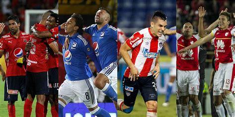 llaves 2 semestre liga aguila 2016 com as 237 se armaron los 20 clubes de colombia segundo semestre