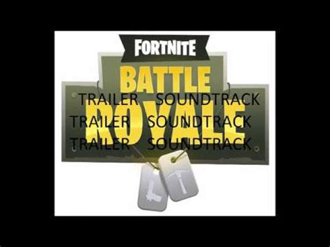 fortnite original trailer vote no on fortnite battle royale song