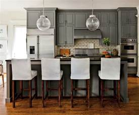 Black Hair Kitchen Grey S Anatomy Kitchen Gray Cabinets With Gray Granite Countertops Grey