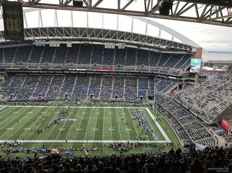 what sections are covered at centurylink field centurylink field section 307 seattle seahawks