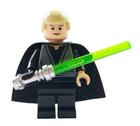 Lego Minifigure Wars Luke Skywalker Jedi Master Light Saber lego wars luke skywalker jedi www pixshark images galleries with a bite