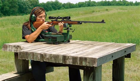 rifle shooting bench caldwell lead sled plus recoil reducing rifle shooting rest review