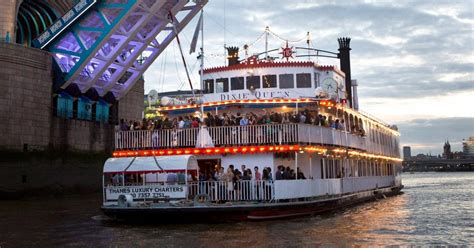 thames river cruise birthday party dixie queen paddle steamer thames luxury charters