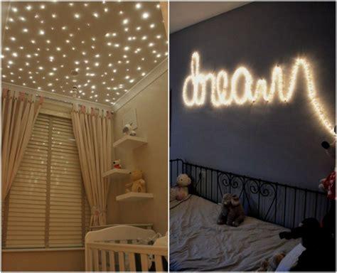 decorar mi cuarto con luces decorar dormitorios con guirnaldas de luces dormitorios
