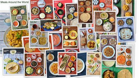 foods from around the world image food around the world