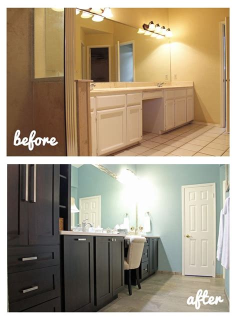 bathroom vanity remodel 17 best images about before and after remodeling on