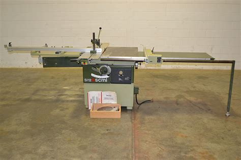 Scmi Si12 Sw Sliding Table Saw The Equipment Hub Scmi Sliding Table Saw
