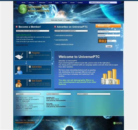 Php Forum Templates Free by Template Ptc Economic 11 Design Emoneyspace