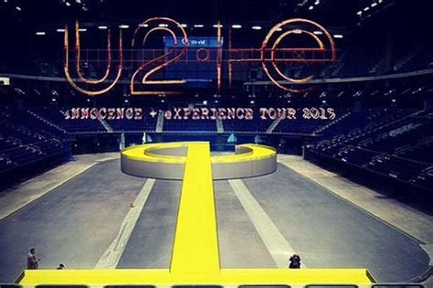 u2 seating chart guide innocence amp experience tour 2015