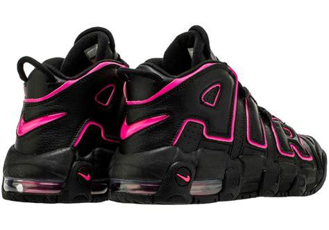 black uptempo nike air more uptempo black pink 415082 003 sneakernews com