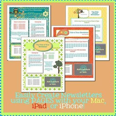 office newsletter templates download free word blank family
