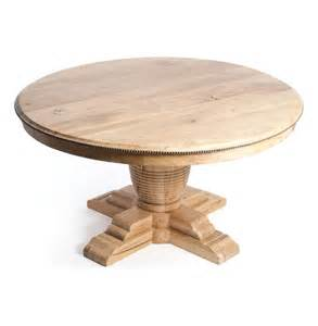 Vineyard Farm House Trestle Base 60 Quot Round Dining Table With Leaves