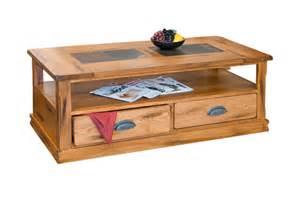 coffee table with slate inlay sd 3163ro c sedona rustic oak coffee table with slate