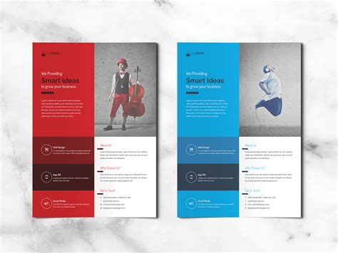 templates flyers indesign free corporate flyer free indesign templates for designers