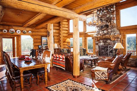 home interior western pictures interior design tips for a classic log home makeover