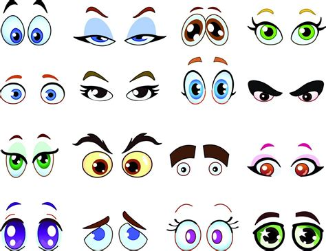 printable picture of cartoon eyes cartoon eyes cliparts co