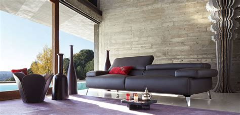 canapé roche bobois destockage grand canap 233 3 places graphite roche bobois