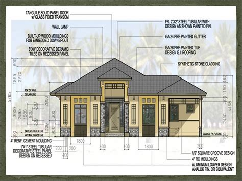 philippine house design with floor plan small house design plan philippines compact house plans