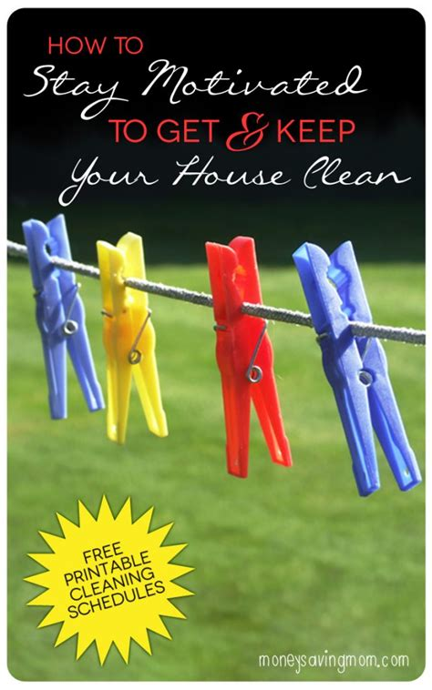 How To Get Your To With The Housework by Q A How Do You Stay Motivated To Get Housework Done