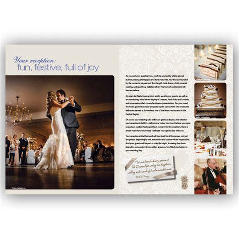 Wedding Brochure Paper by Brochure Design Award Winning Effective Blass Marketing