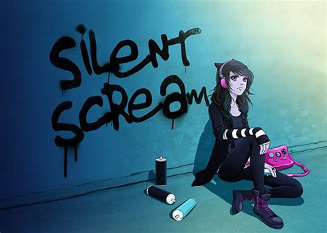 Bedroom Wall Decor Stickers quot zoe silent scream quot posters by anna blue redbubble