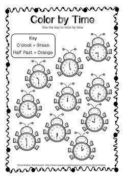 clock worksheets o clock and half past time o clock and half past worksheets printables
