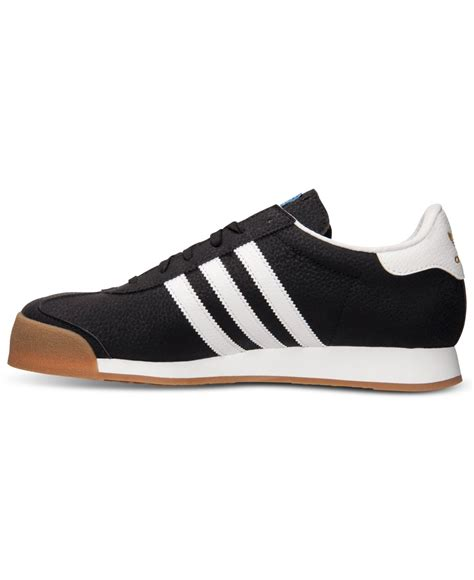 lyst adidas s samoa casual sneakers from finish line in black for