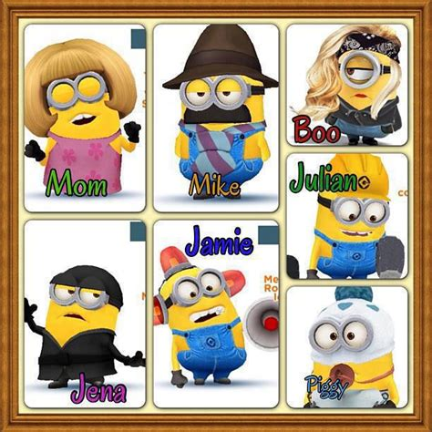 Family Minion 3 it s minions minions family