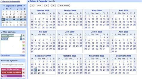 Calendrier Annee 2009 Agenda Le Planning Annuel Est Enfin Disponible