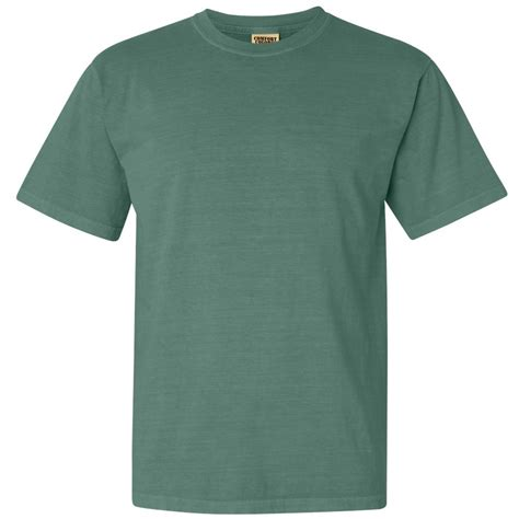 comfort colors green comfort colors 1717 garment dyed heavyweight ringspun