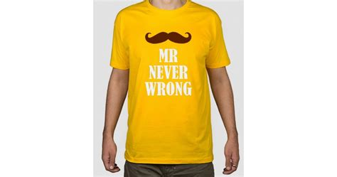 Mr Never Wrong camiseta mr never wrong dezuu