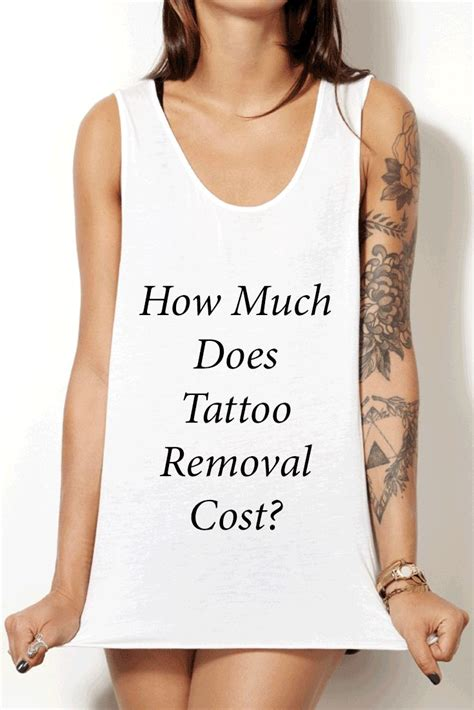 removing tattoo cost 25 best ideas about removal cost on