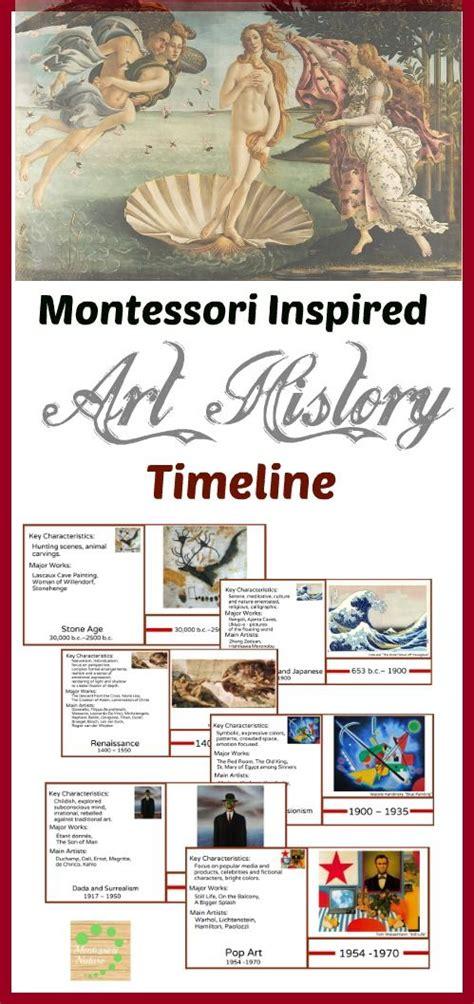 montessori printables uk art history timeline montessori educational materials