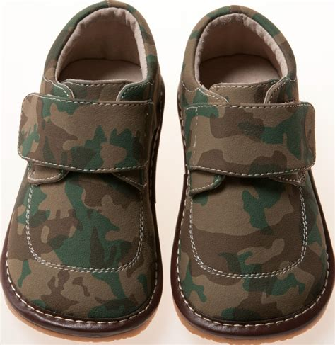 squeaky shoes leather boy camo squeaky shoes toddler size 1 7 ebay