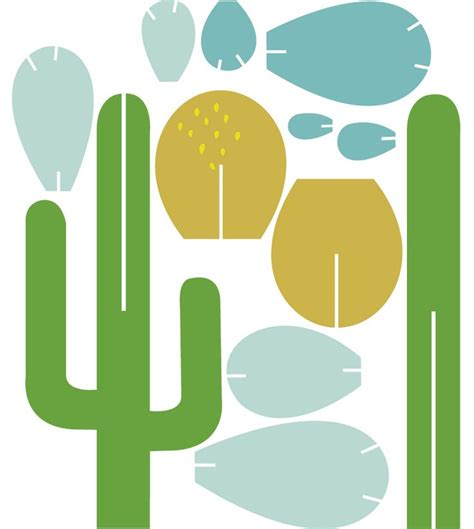 cactus template 25 best ideas about paper cactus on paper