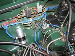 wiring in new harness 1974 b mgb gt forum mg experience forums the mg experience