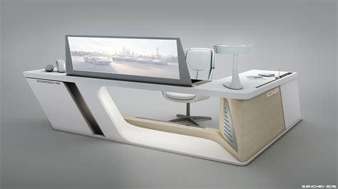 modern desk design by encho enchev sci fi 3d porsche desk design 3 by encho enchev on deviantart