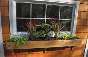 how to build a window box planter cedar window box planters interior design ideas