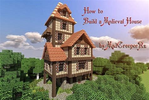 building a house blog how to build a beautiful medieval house minecraft blog