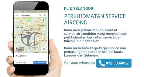 baiki aircond rumah perkhidmatan service aircond