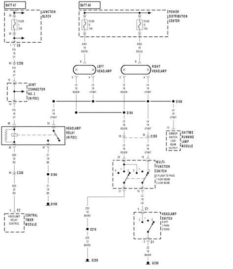 2000 Dodge Dakota Wiring Wiring Diagram General Helper