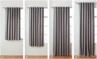 Curtain Rod Size Choose The Right Curtains West Elm