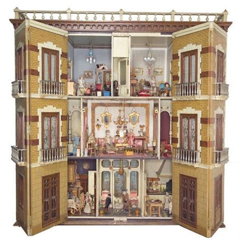 Beautiful Doll House Doll Houses And Miniatures Pinterest