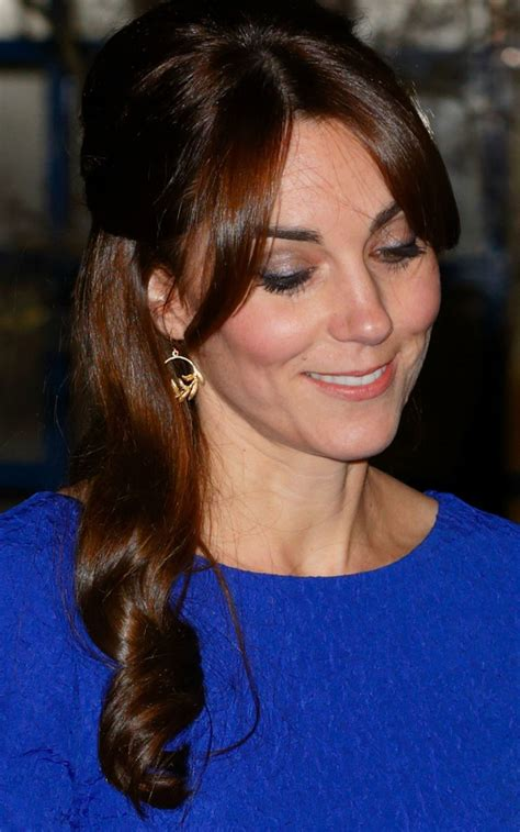 kate middletons  hairstyle glamour
