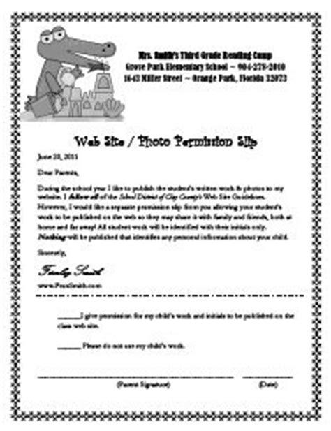Parents Consent Letter For Cing 1000 Images About Parents On Parent Communication Parent Conferences And