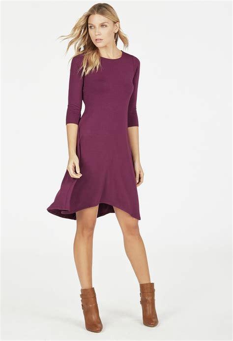 swing style kleidung swing knit dress kleidung in boysenberry g 252 nstig kaufen