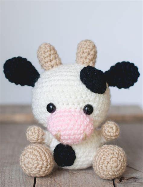free pattern amigurumi animals 25 best ideas about crochet cow on pinterest crochet