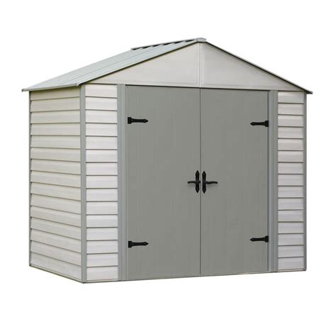 arrow viking series  ft   ft vinyl coated steel shed