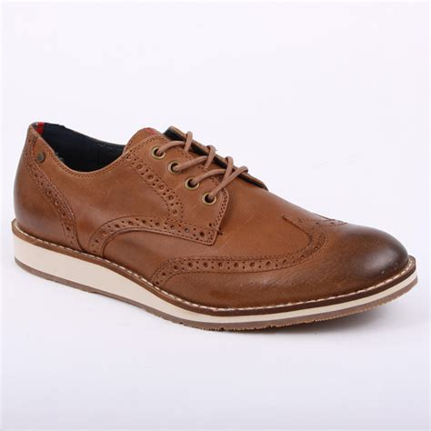 hilfiger oxford shoes hilfiger arthur 1a mens laced leather oxford shoes