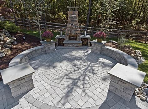 Ideas For Paver Patios Design Using Concrete Paver Patio Ideas Patio Design